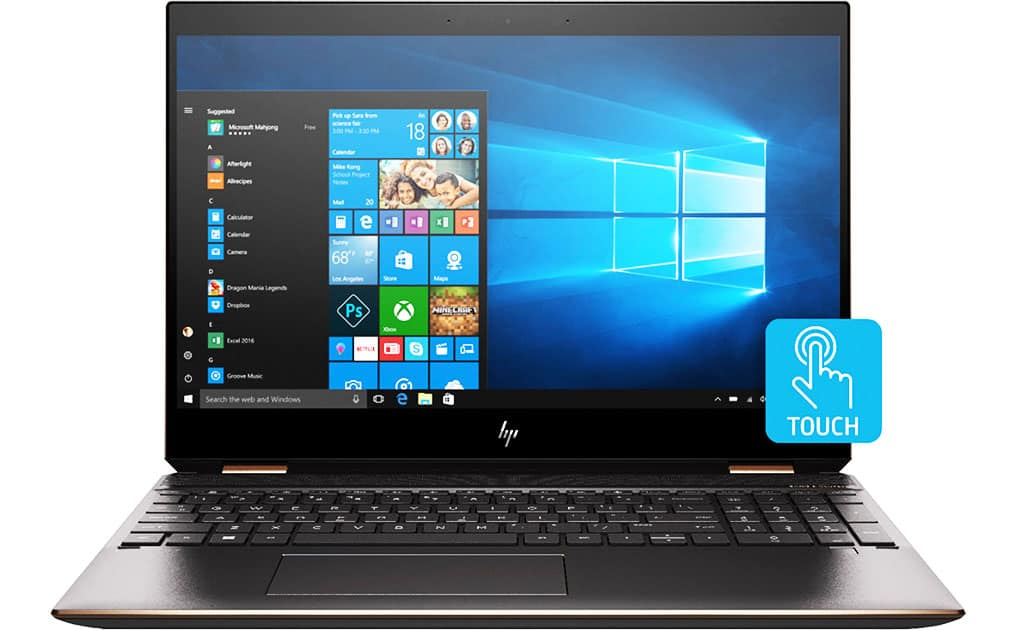 HP Spectre x360 15-CH011DX 4K IPS 2-in-1 Touch Screen Laptop