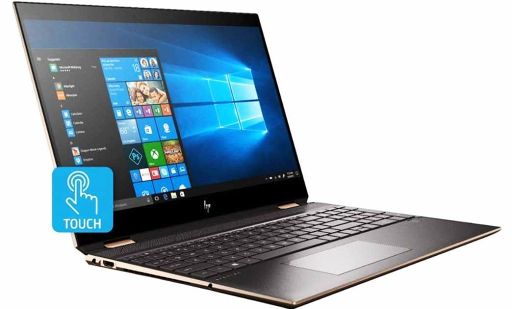 HP Spectre x360 15t best 4k convertible laptop