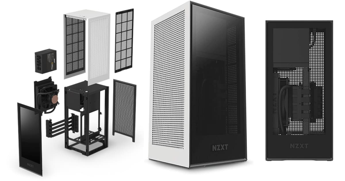 NZXT H1 Small Form-Factor ITX Case