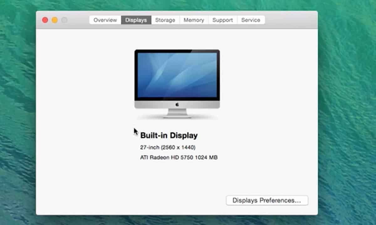 built in display how to check laptop resolution