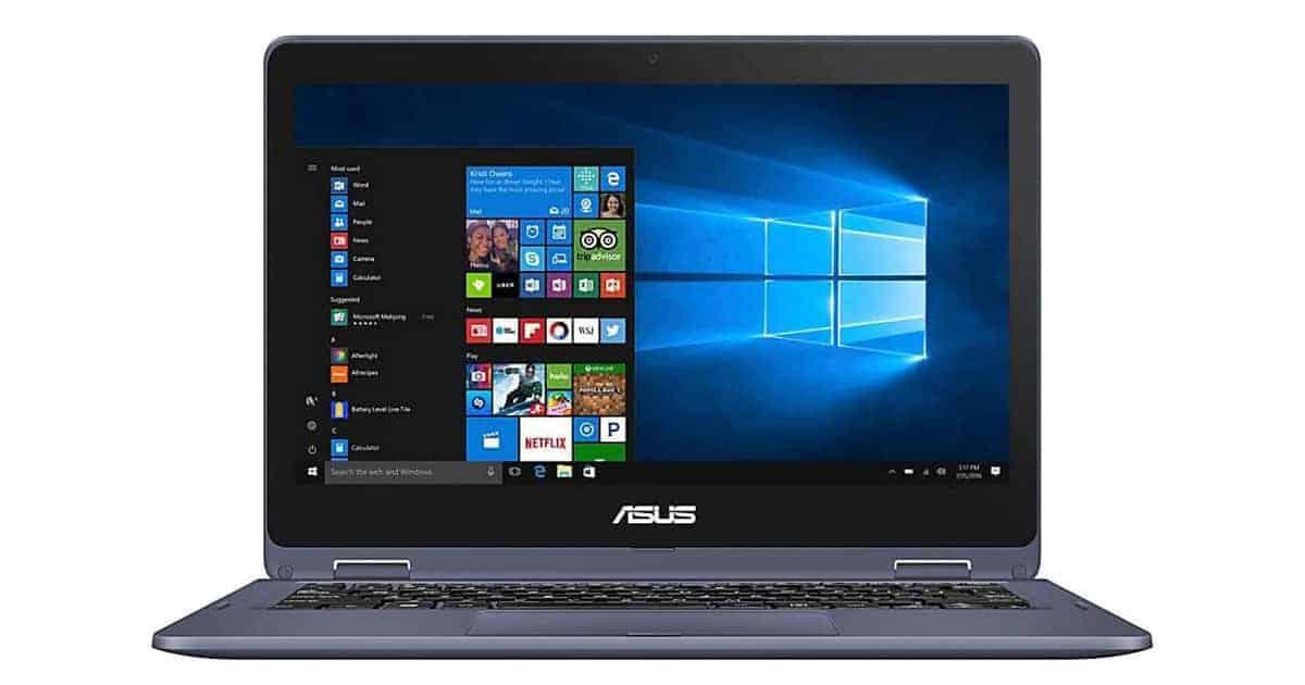 ASUS Vivobook - Best Affordable 2 in 1 Laptop