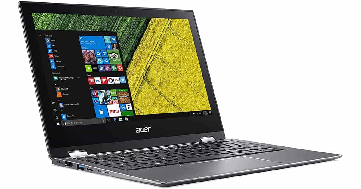 Acer Spin 1 - Best 2 in 1 laptop for gamers