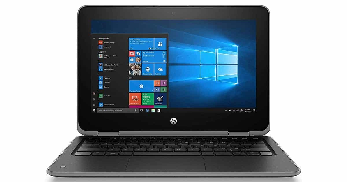 HP ProBook x360 - Best 2 in 1 Laptop with stylus
