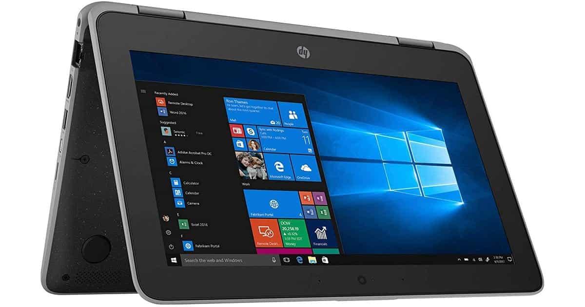 HP ProBook x360 - Display