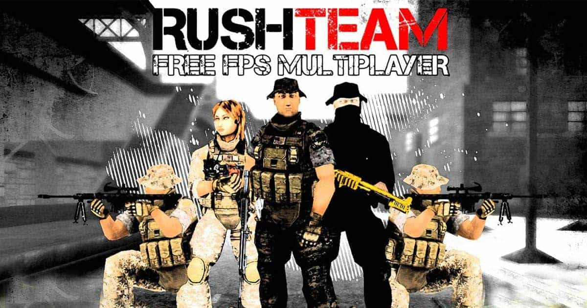 Rush Team - Best Flash Based Shooter Games