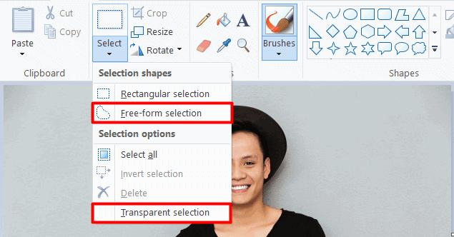 mspaint select 2