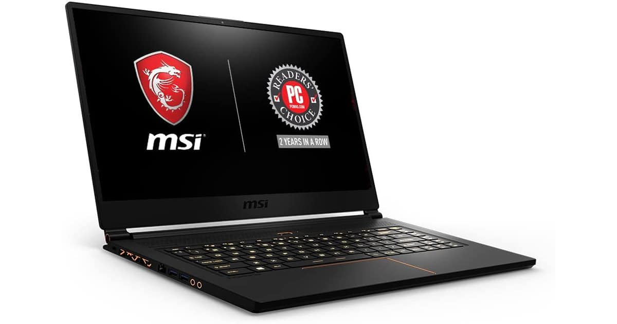 MSI GS65 Stealth -Best Laptop For Med School And Gaming