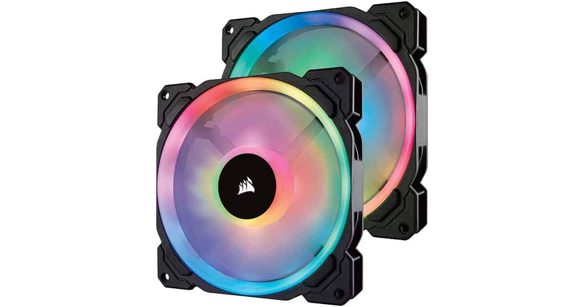 CORSAIR LL Series LL140 -The Best 140mm RGB PC Fan in 2020