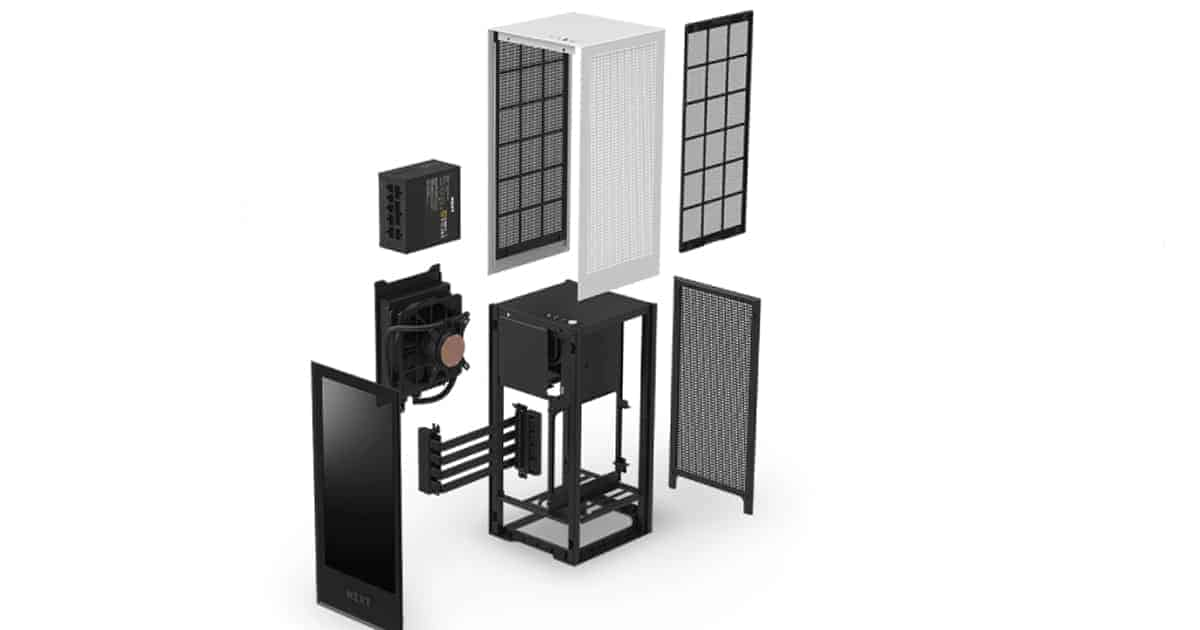 NZXT H1 components