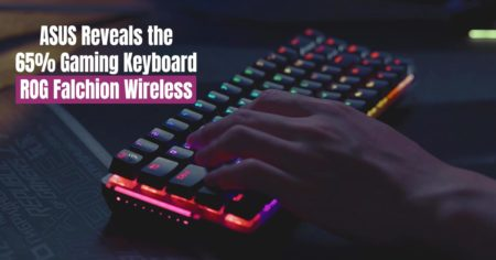 ASUS Reveals the 65% Gaming Keyboard - ROG Falchion Wireless