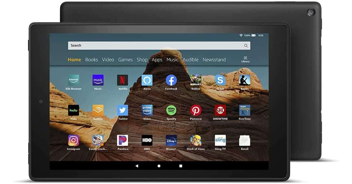 Amazon Fire HD 10 2019 - Best 10 Inch Tablet on a Budget