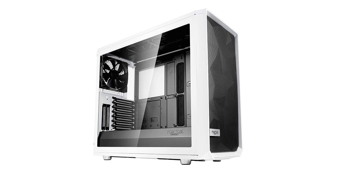 Fractal Design Meshify S2 - Best for Water Cooling Flexibility