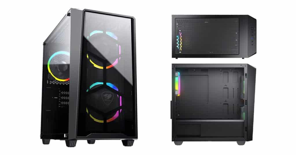 Cougar relaunches the MG120-G Mini Tower Case with ARGB fans