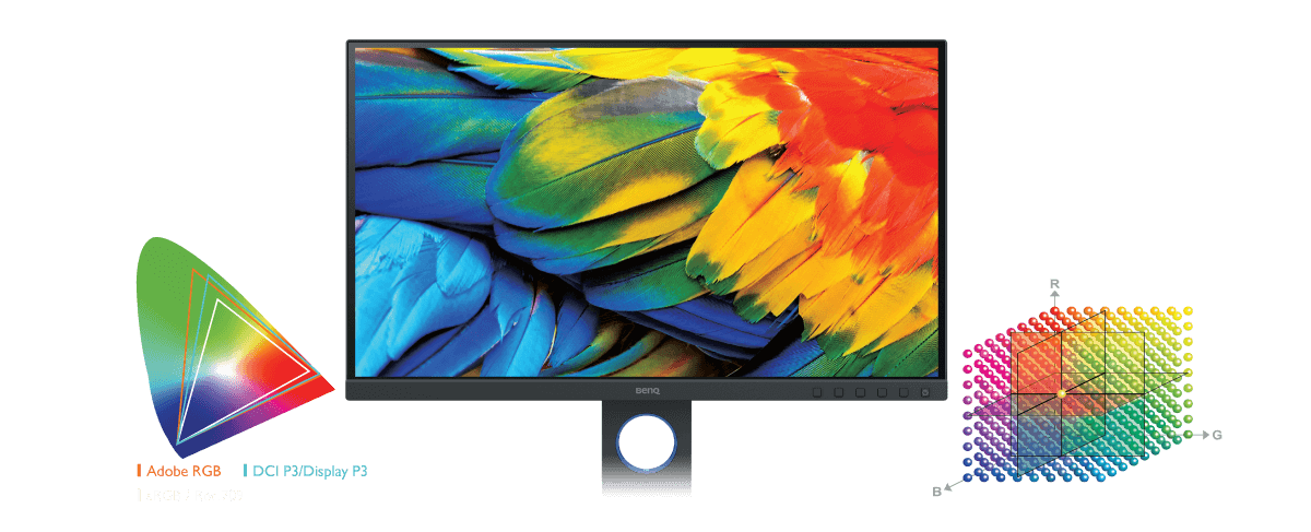 Colourful Sceen, Bright colour flower, BENQ SW321C