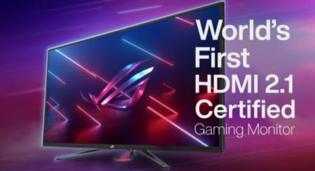 Asus 4k Monitors with 2.1 certifications
