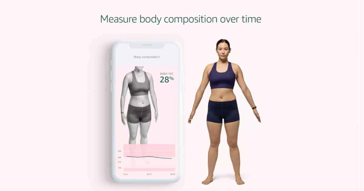 Body Fat Analysis Fitness with Halo Band