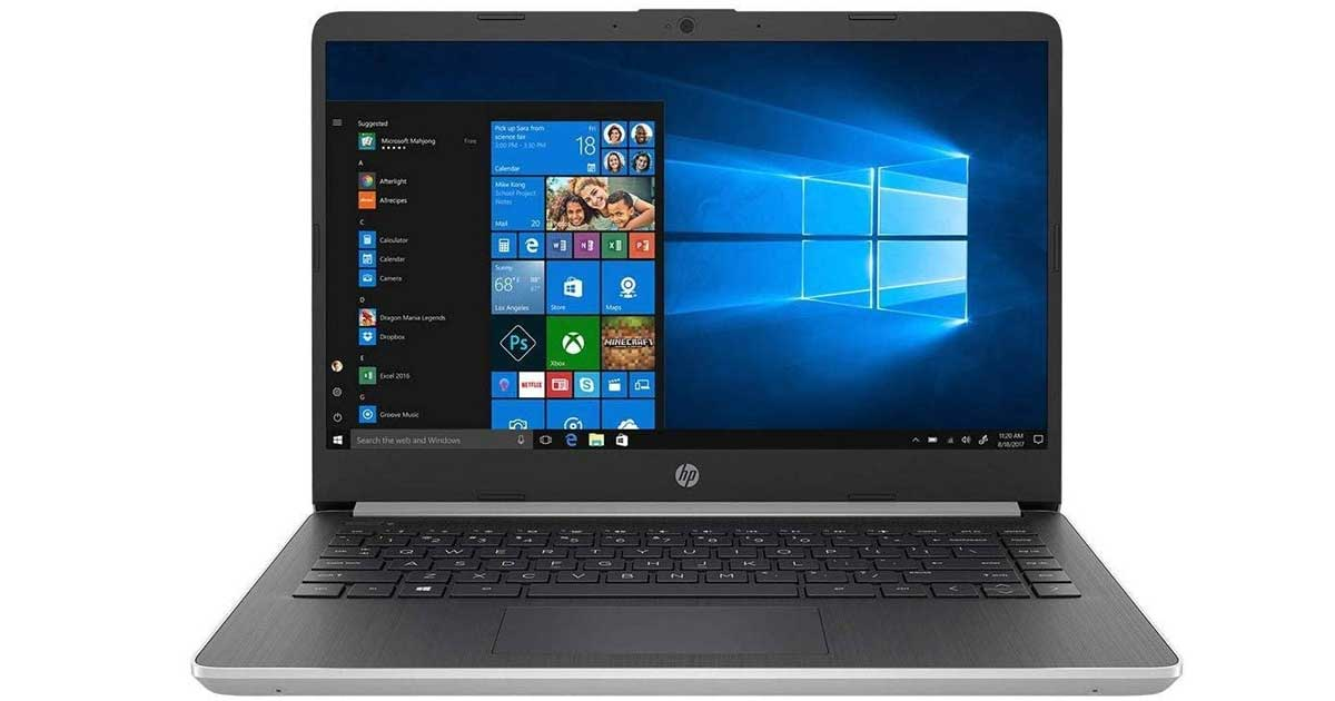HP 14″ FHD IPS Laptop Notebook