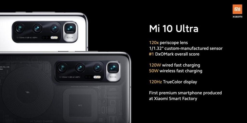 Xiaomi launches Mi 10 Ultra on its 10th anniversary1
