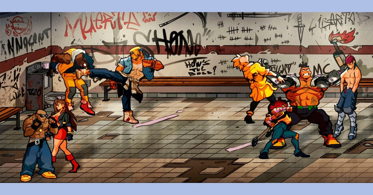 Streets of Rage 4 Reviewed