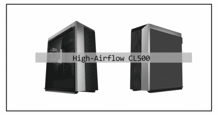 CL500 High-airflow mid-tower PC