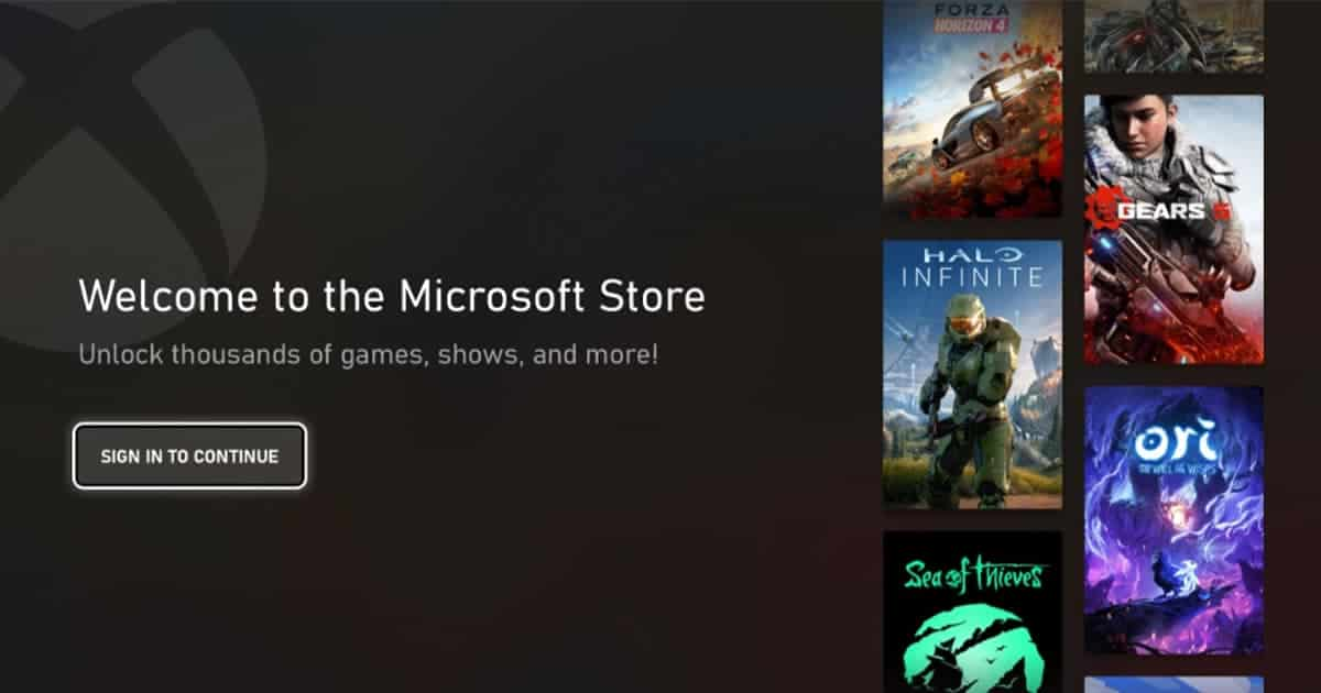 Major Redesign to the Microsoft Store on Xbox Revealed