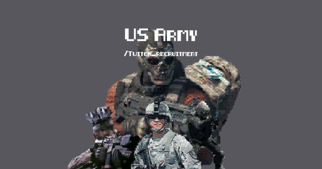 US Army on Twitch