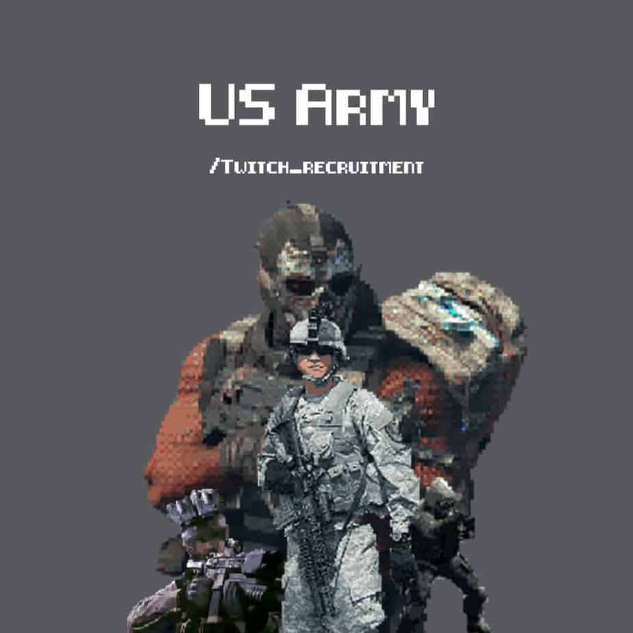 US Army Twitch Recruitment
