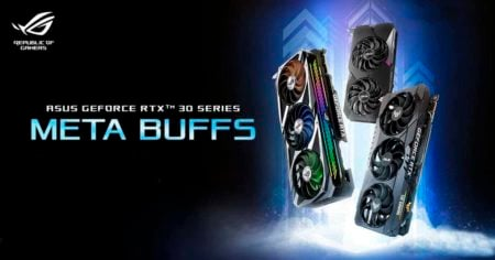 Asus reveals their new RTX 3000 series - ROG, TUF and Dual Series
