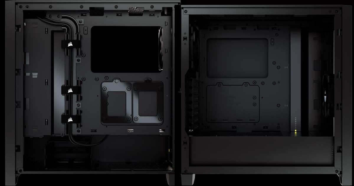 Corsair 4000D internals