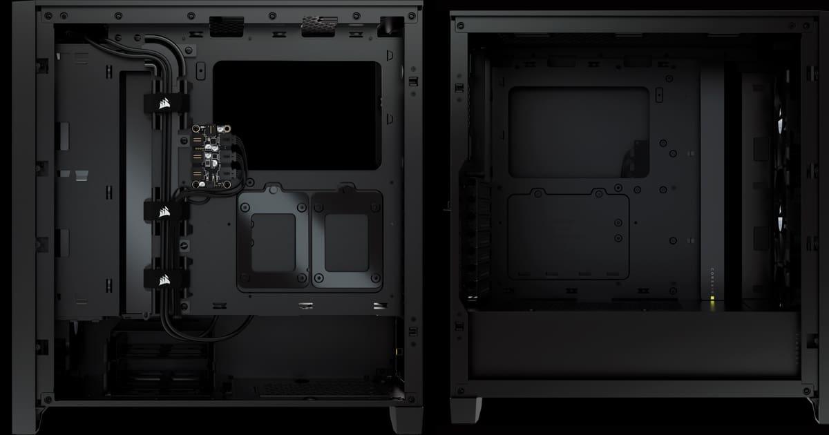 Corsair 4000X Internals