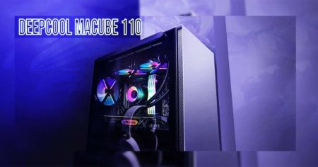 Deepcool MACUBE 110 WH - the newest M-ATX case in town