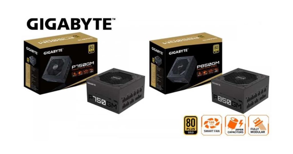 Gigabyte release their new P850GM and P750GM Power Supply