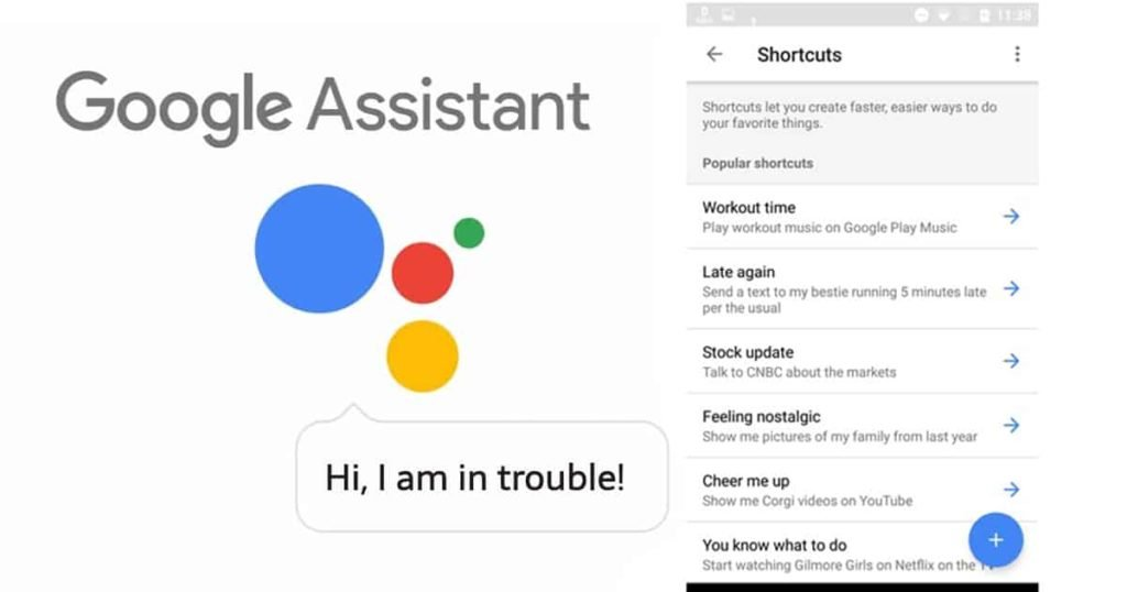 Google Comes With Assistant Shortcuts
