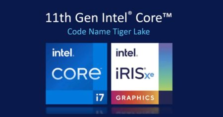 Intel takes back the mobile CPU throne with 11th Gen Tiger Lake CPU