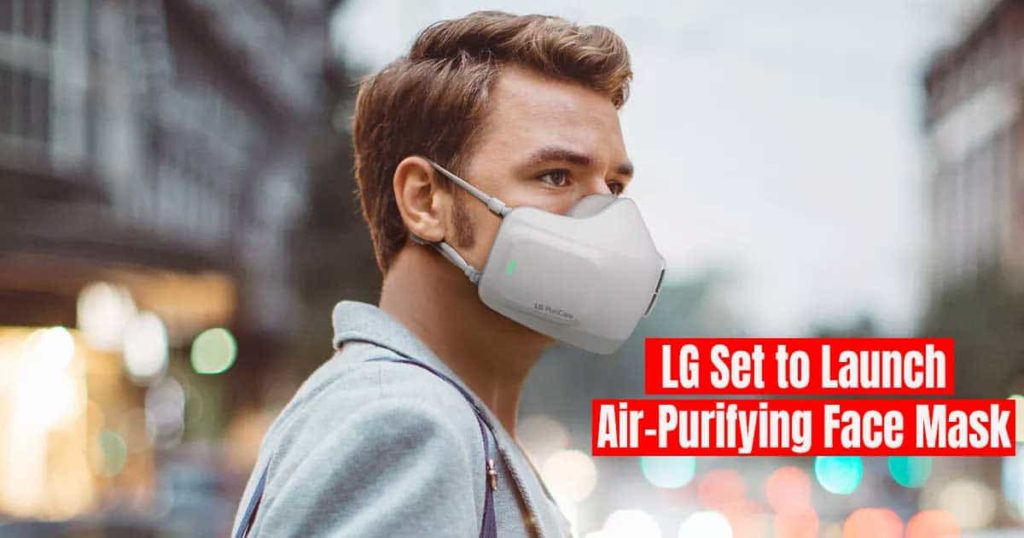 LG Set to Launch Air Purifying Face Mask