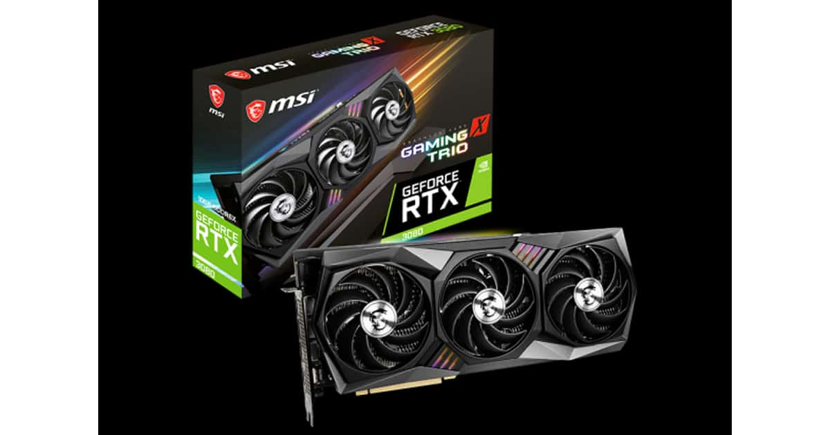 MSI Trio X Package