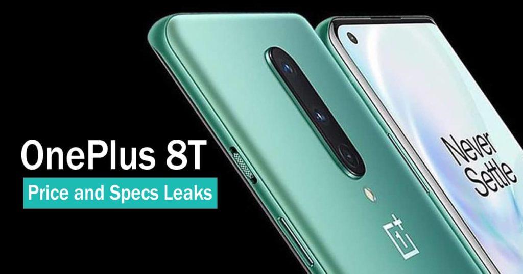 Oneplus 8t leaks