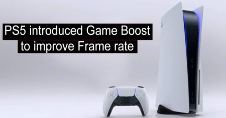 PS5 introduced game boost