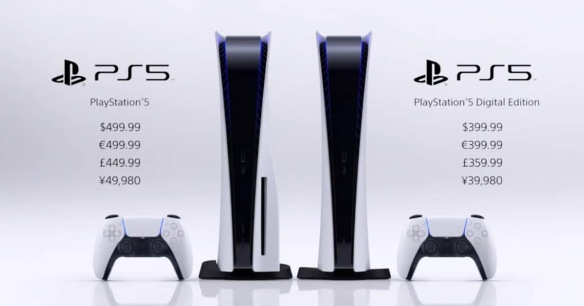 PS5 release date announced