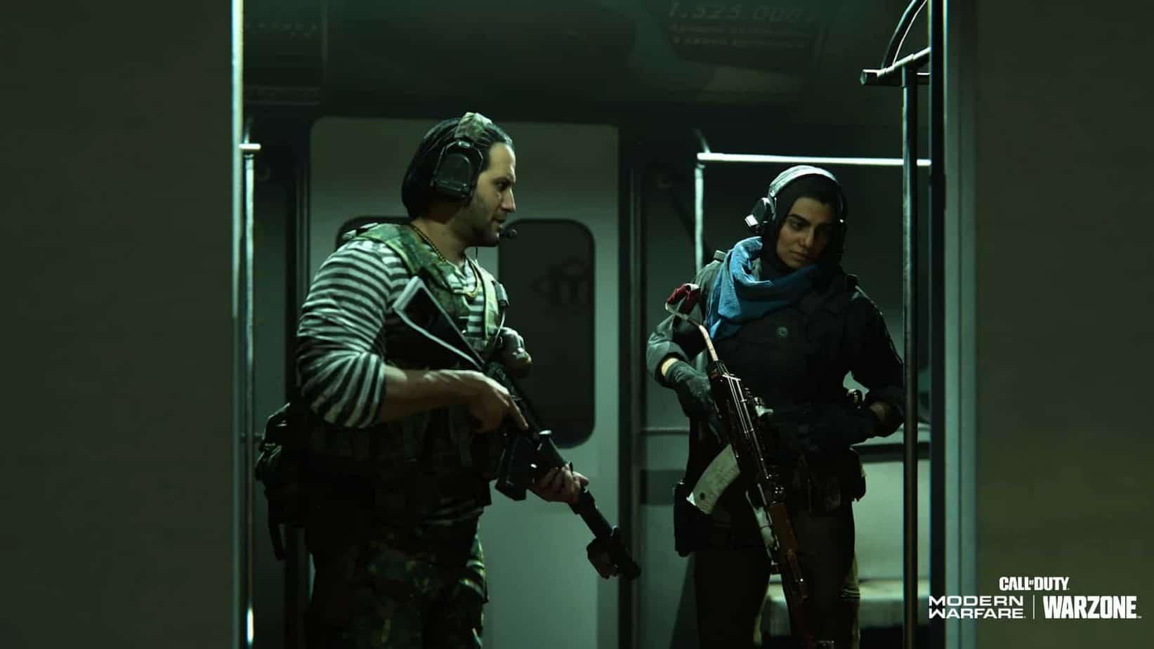 Warzone subway station