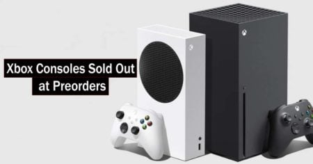 Xbox Consoles Sold Out Preorders
