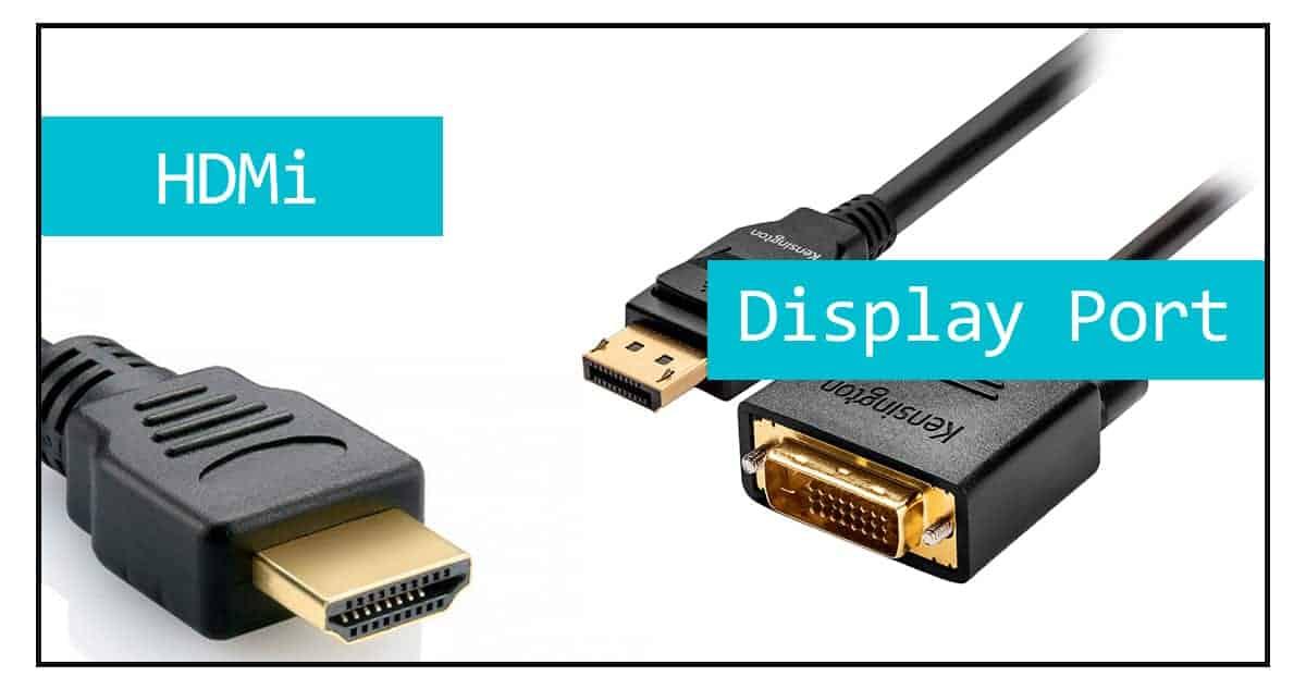 hdmi display port