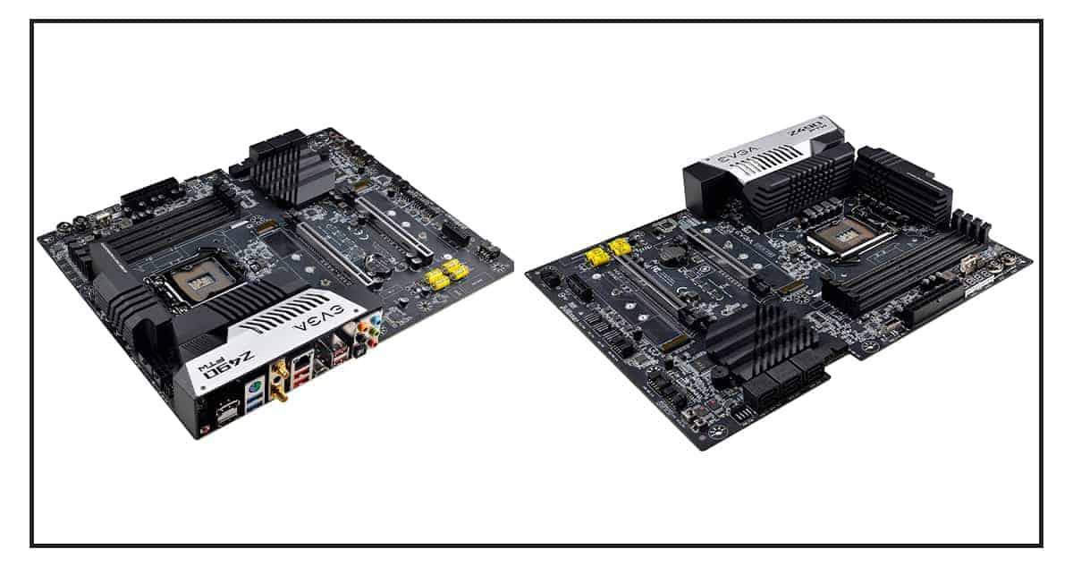 EVGA z490 motherboard