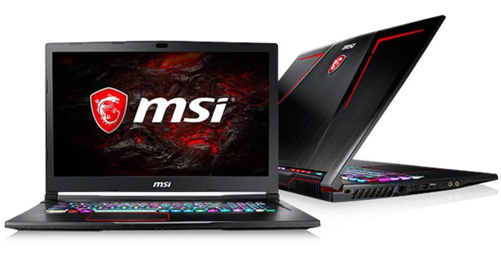msi laptops