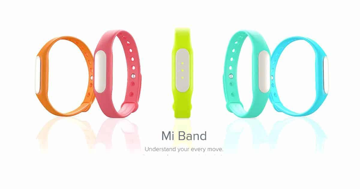 xiaomi bands