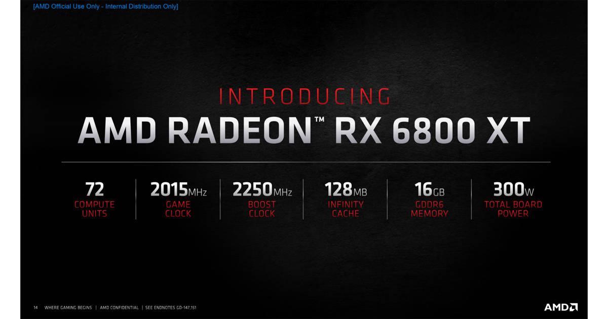AMD Radeon RX 6800XT
