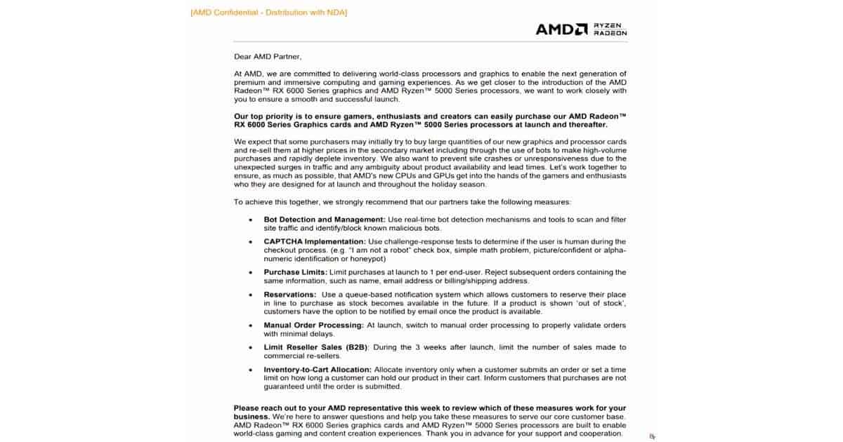 AMD board guidlines