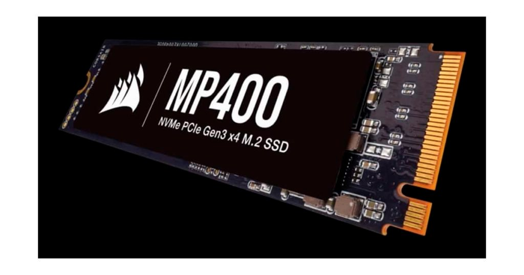 Corsair releases its latest updated MP400 SSDs