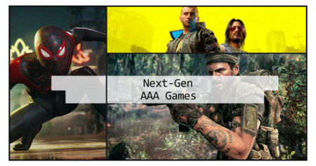 Next gen games coming for PlayStation 5 and Xbox Series on 2020
