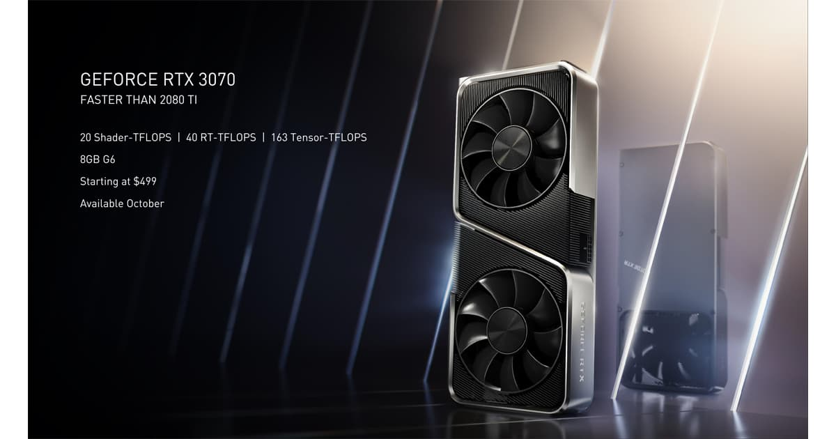 RTX 3070 specs